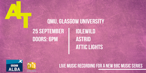 ALT Music Series Recordings: IDLEWILD, ASTRID & ATTIC LIGHTS