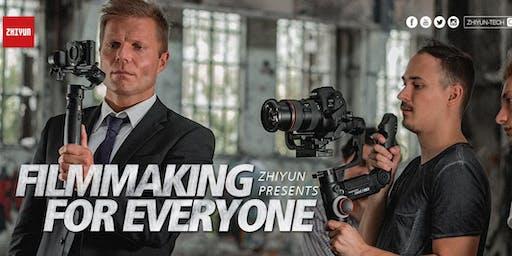 Zhiyun Presents: Filmmaking for Everyone  – SA