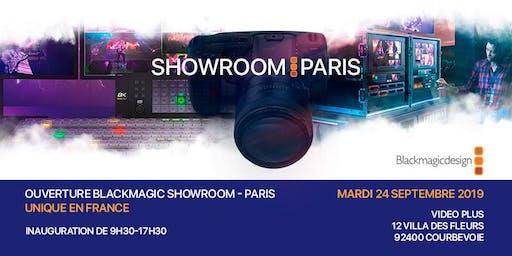 Ouverture Blackmagic Design Showroom Paris