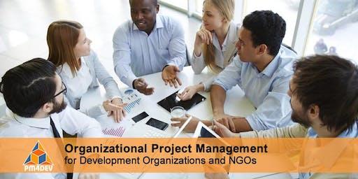 Online Course: Organizational Project Management for Development (March 9, 2020)