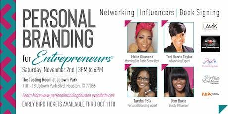Personal Branding for Entrepreneurs tickets