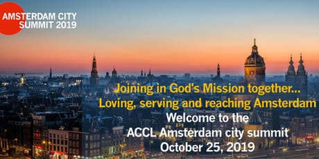 ACCL Amsterdam City Summit 2019 tickets