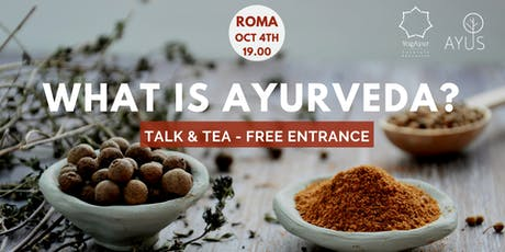 what is is Ayurveda? free event biglietti