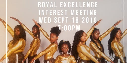 Royal Excellence Step Team Interest Meeting