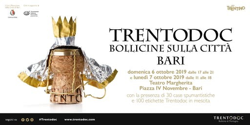 TRENTODOC BOLLICINE SULLA CITTA' BARI