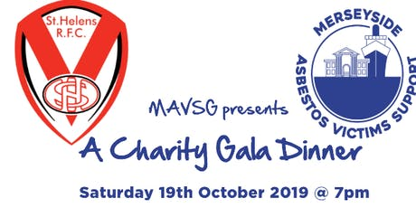 MAVSG Charity Gala Dinner at St Helens Rugby Club tickets