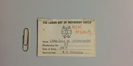 Geraldine Stephenson Archive Launch tickets