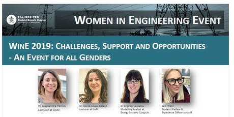 Women in Engineering 2019: Challenges, Support and Opportunities - An Event for all Genders tickets