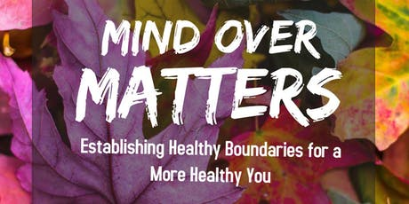 Mind Over Matters tickets