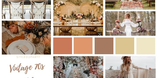 Vintage 70s Wedding Inspired Styled Shoot
