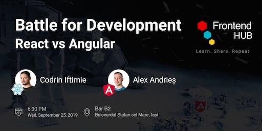 New season: Battle for development: React vs. Angular