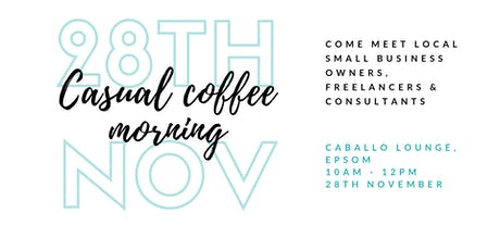 Casual Coffee Morning for Surrey Women in Business tickets