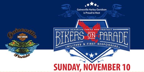 Bikers on Parade 2019.....Riding to Support Local Veterans & First Responders tickets