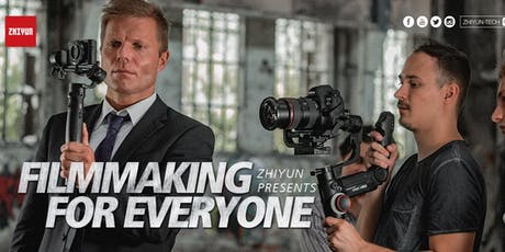 Zhiyun Presents: Filmmaking for Everyone  – LA tickets