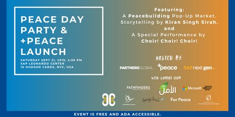 NYC Peace Day Party & +Peace Launch tickets