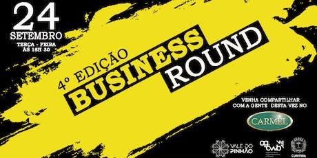4ª BUSINESS ROUND ingressos