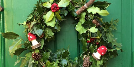 Christmas Wreath Making @ Marsden Mechanics