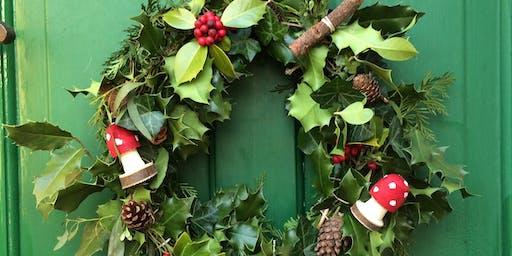 Christmas Wreath Making @ Marsden Mechanics