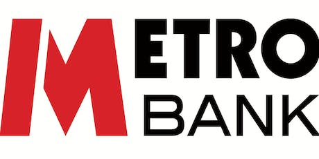 Metro Bank Networking Event with guest speaker Ruth Ferreira tickets