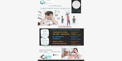 Let's: Learn -  Taller Capacitados para Capacitar - Padres , Maestros y Encargados