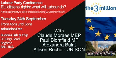 Labour Party Conference - EU citizens' rights: what will Labour do? tickets