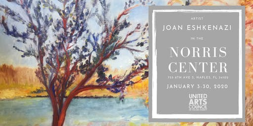 Joan Eshkenazi in the Norris Center