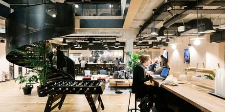 WeWork 1 Mark Square - Building Tour & Complimentary Trial tickets