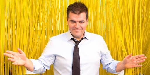 Comedian Ian Bagg