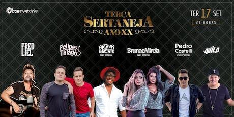 TERÇA SERTANEJA - 17/09 ingressos