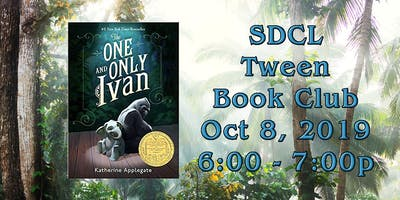 SDCL Tween Book Club: The One and Only Ivan