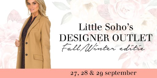 ★ Designer Outlet Sale | Herfst/winter editie | Little Soho★