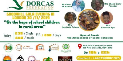 Dorcas Foundation Gala Dinner. CANTEEN FOR ALL