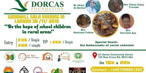 Dorcas Foundation Gala Dinner. CANTEEN FOR ALL