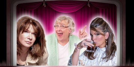 """""""Three Hysterical Broads ... Off Their Medication"""""""