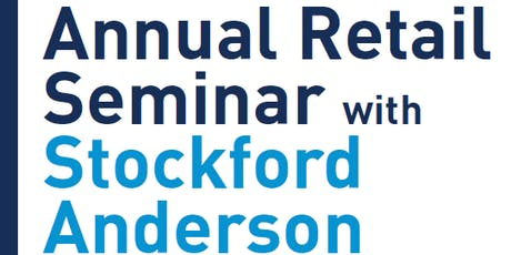 2019 RETAIL SEMINAR with Stockford Anderson tickets