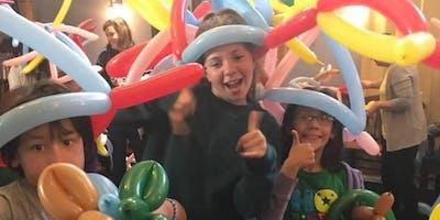 Balloon Twisting Workshop at Einstein's Attic