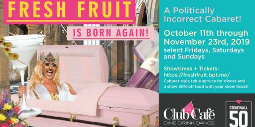 """Fresh Fruit Is Born Again!"""