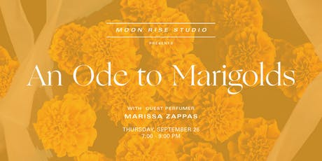 An Ode to Marigolds tickets