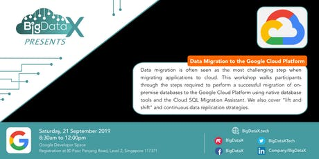 BigDataX: Data Migration to the Google Cloud Platform tickets