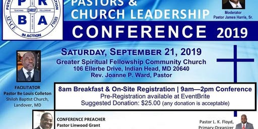 Pastors and Church Leadership Conference