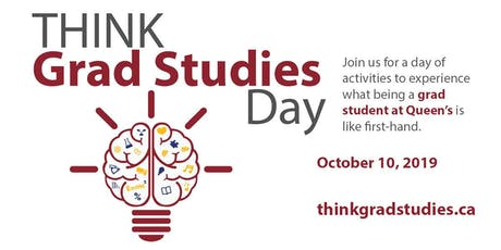 Think Grad Studies Day 2019 tickets