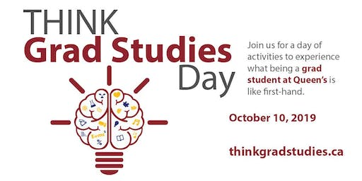 Think Grad Studies Day 2019