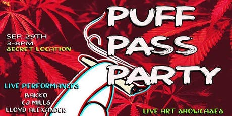 Puff N Pass Party  tickets