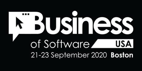 Business of Software Conference USA 2020 tickets