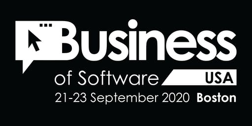 Business of Software Conference USA 2020