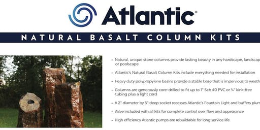 Basalt Fountain installation Class on Sept 17