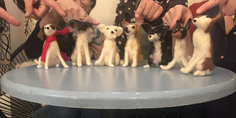Learn Needle Felting with Linda Facci & Make Your Own Felted Dog! tickets