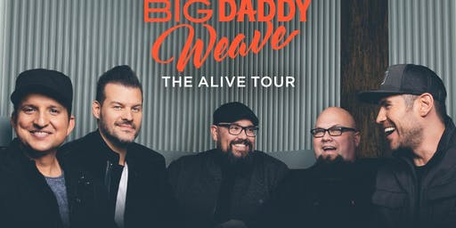 """Big Daddy Weave """"Alive"""" Tour"""