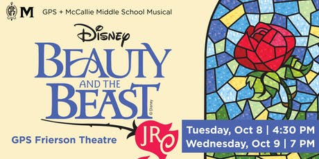Disney's Beauty and the Beast JR | GPS + McCallie Middle School Fall Production tickets