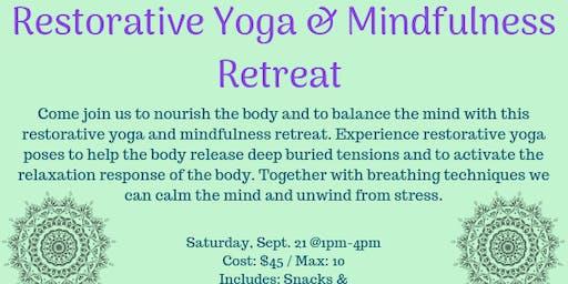 Restorative Yoga & Mindfulness Retreat